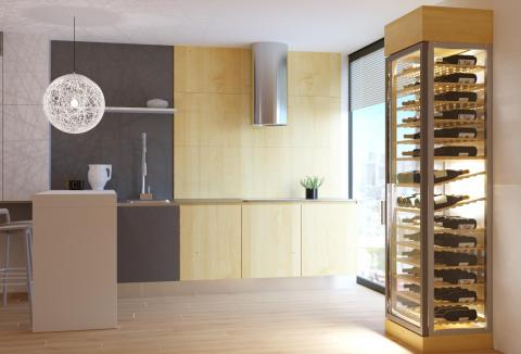 Luxury Condo & Case Studies | Foxwood Wine Cabinets | Luxury Wine Cabinets