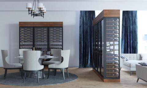 Dine-In Wine Cellar & Residential | Foxwood Wine Cabinets | Luxury Wine Cabinets
